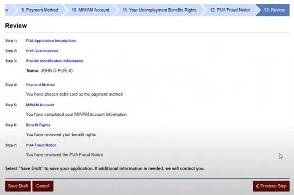 review information michigan unemployment