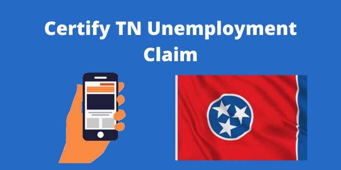 certify tennessee unemployment claim