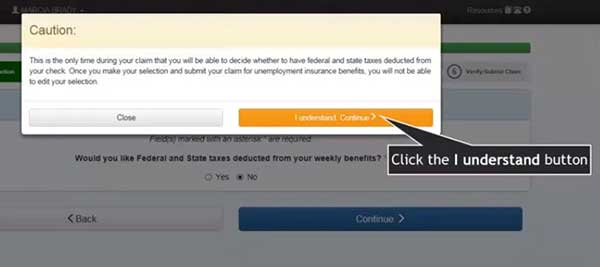 advice in federal and state taxes to file a new claim on indiana unemployment insurance