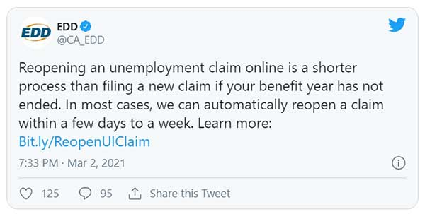 info about reopening your claim in california
